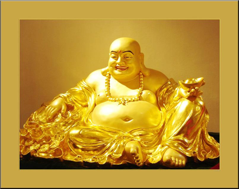 Hình ảnh thần tài dát vàng