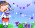 Ảnh cartoon happy birthday đẹp nhất