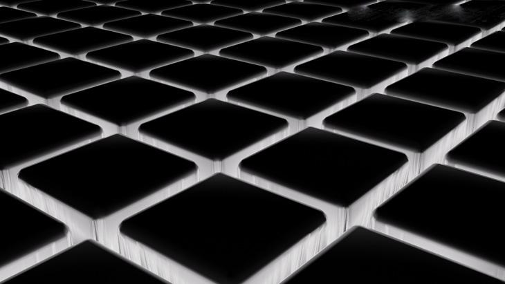 Hình ảnh Những ô Vuông Màu đen độc đáo Dành Cho Desktop