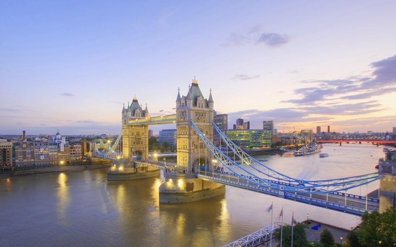 Hình ảnh phong cảnh cây cầu tháp ở Luân đôn nước anh
