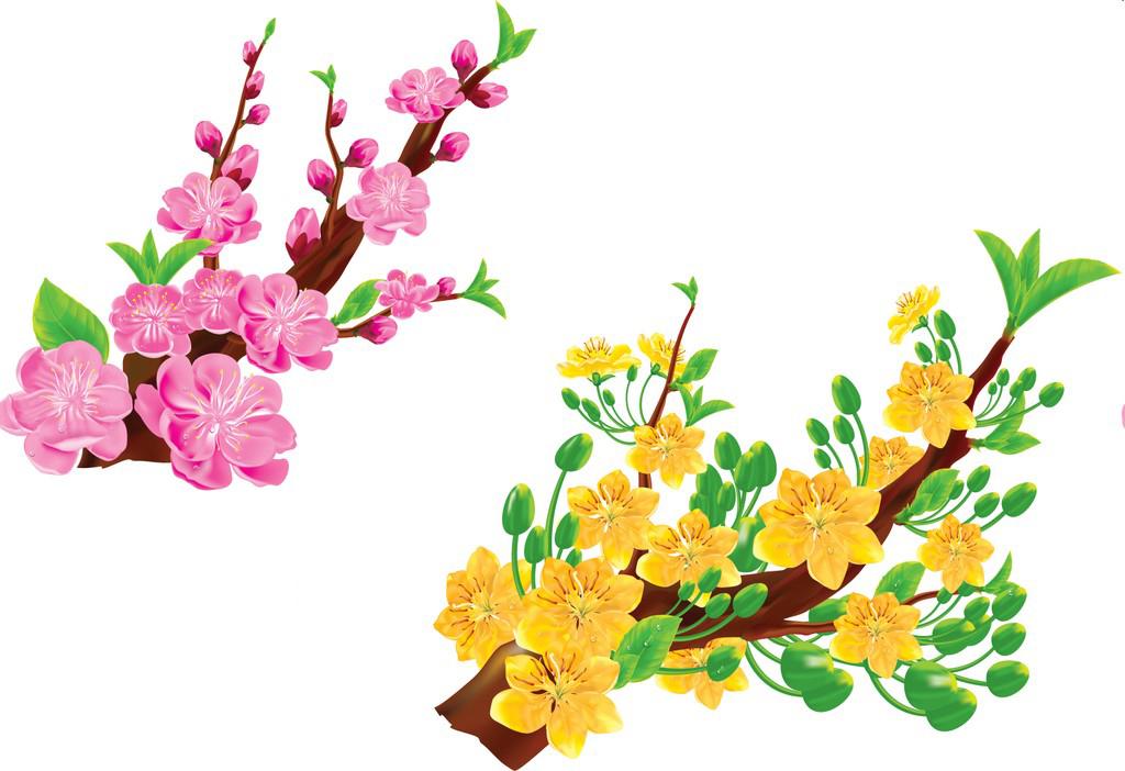 Canh hoa dao