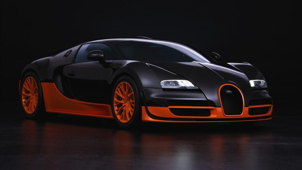 Hình Ảnh ô tô Bugatti Veyron thể thao phong cách