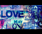 Ảnh Bìa Facebook Chữ Love Lãng Mạn Và Vui Nhộn