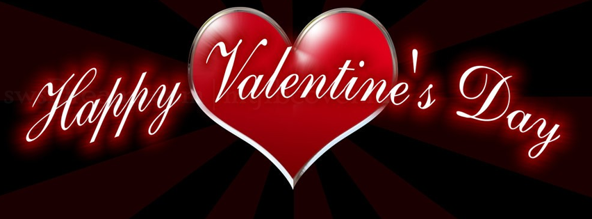 Cover facebook Happy Valentine's Day