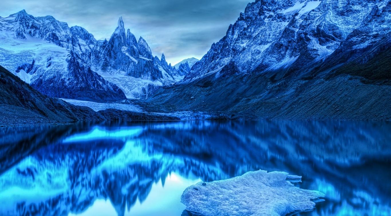 Hình ảnh Thiên Nhiên Mát Lạnh Màu Xanh Dương