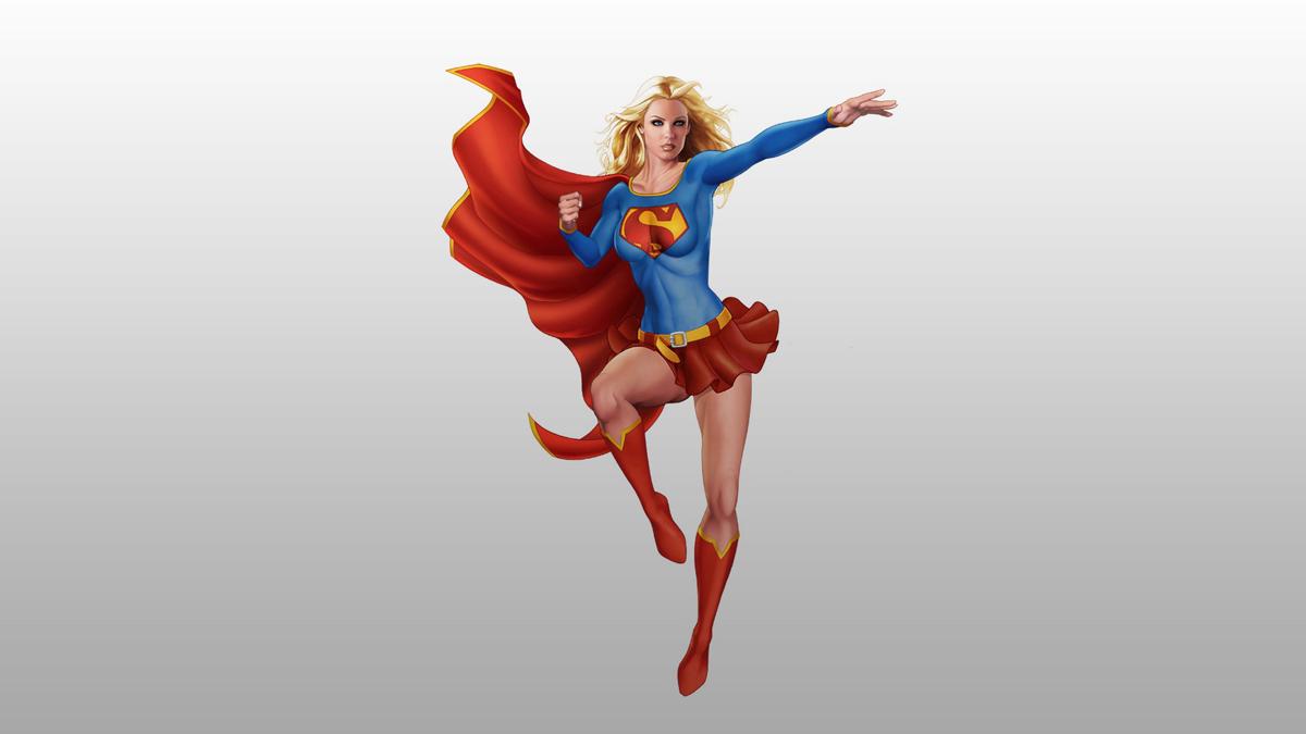 Hình nền nữ siêu nhân anh hùng
